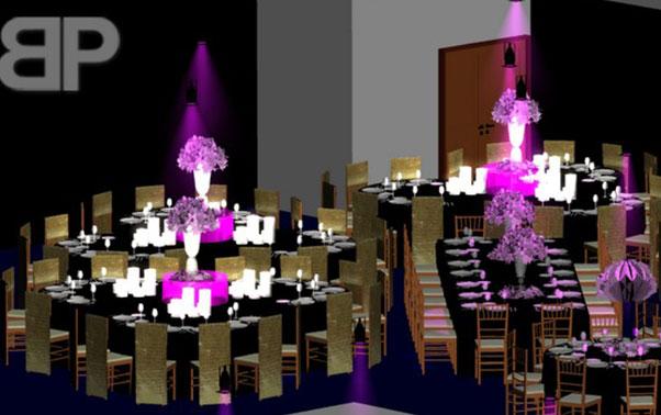 Plan restaurant nunta Brasov Blitz Party